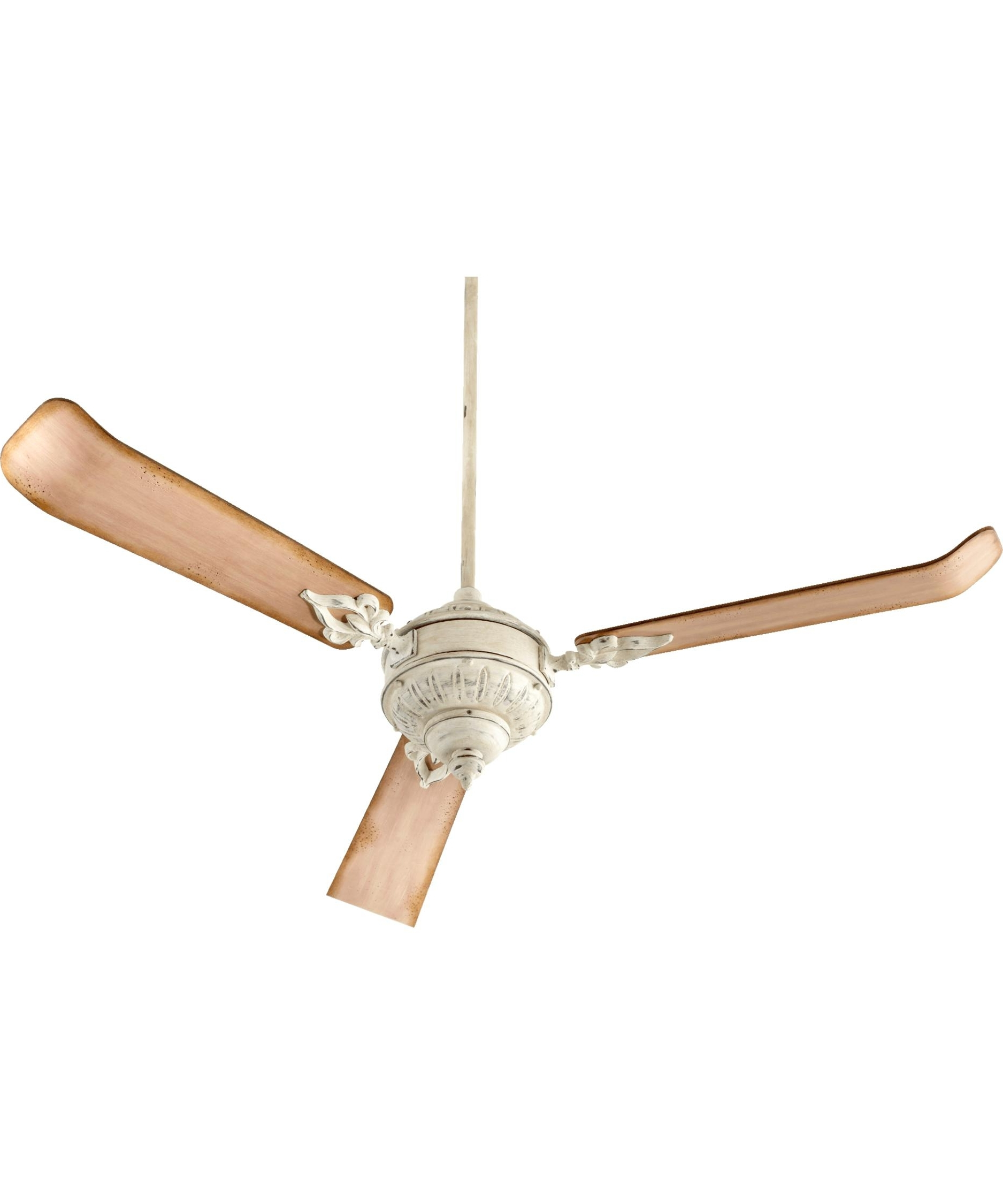 Most Popular Quorum Outdoor Ceiling Fans Throughout Quorum International 27603 Brewster 60 Inch 3 Blade Ceiling Fan (Gallery 2 of 20)