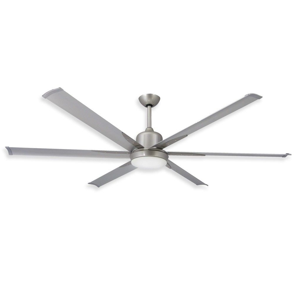 Most Recent Industrial Looking Outdoor Ceiling Fan (View 2 of 20)