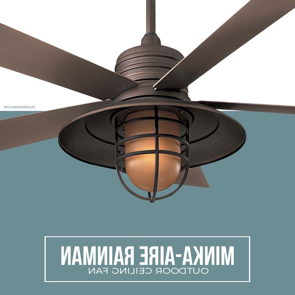 Most Recent Nautical Ceiling Fans Like The Minka Aire Rainman Feature An For Nautical Outdoor Ceiling Fans (View 6 of 20)