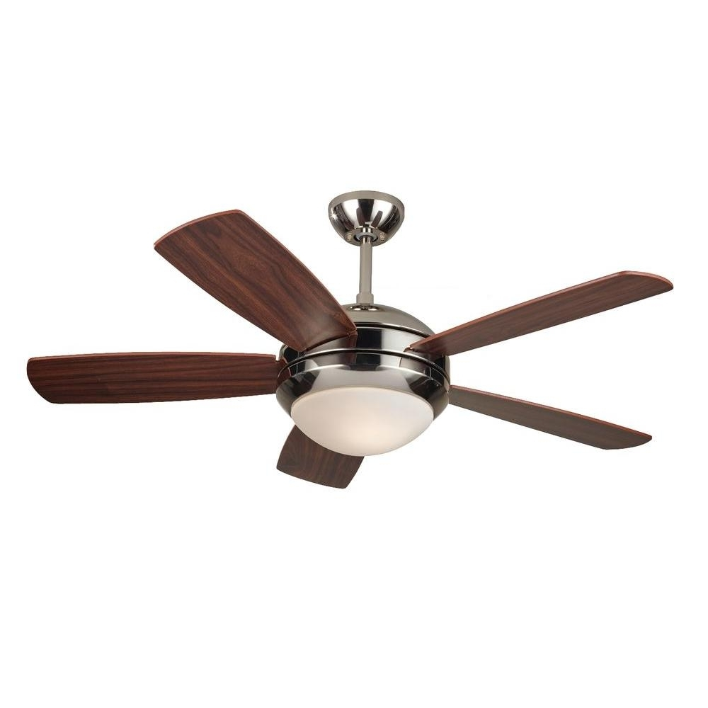 Most Recently Released 44 Inch Outdoor Ceiling Fans With Lights Pertaining To Monte Carlo Discus Ii 44 In (View 19 of 20)