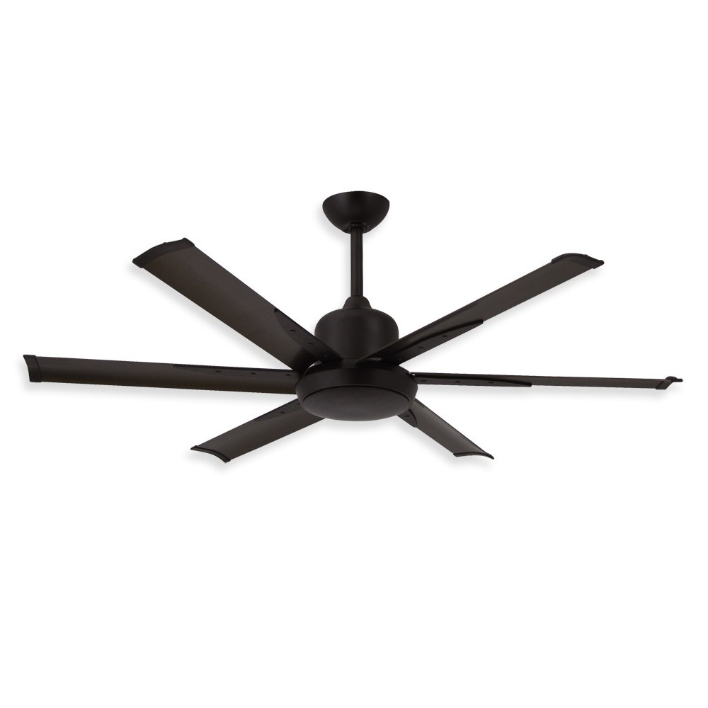 Most Recently Released Flush Mount Outdoor Ceiling Fans Inside 52 Inch Dc 6 Ceiling Fantroposair – Commercial Or Residential (View 12 of 20)