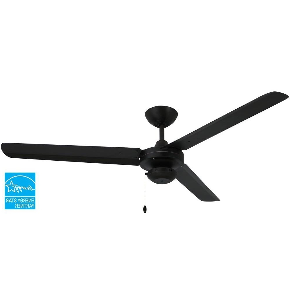 Most Recently Released Outdoor Ceiling Fans At Home Depot Within Troposair Tornado 56 In. Oil Rubbed Bronze Indoor/outdoor Ceiling (Gallery 14 of 20)