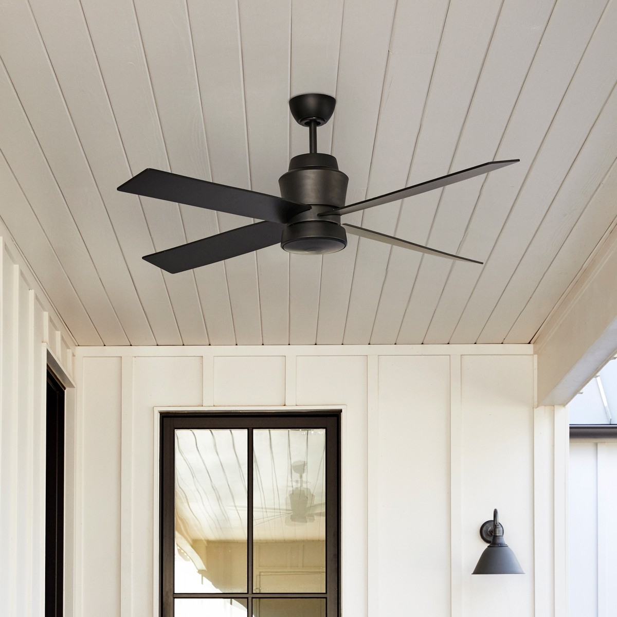 Most Recently Released Prologue Outdoor Ceiling Fan :: Stori Modern With Regard To Outdoor Ceiling Fans (View 12 of 20)