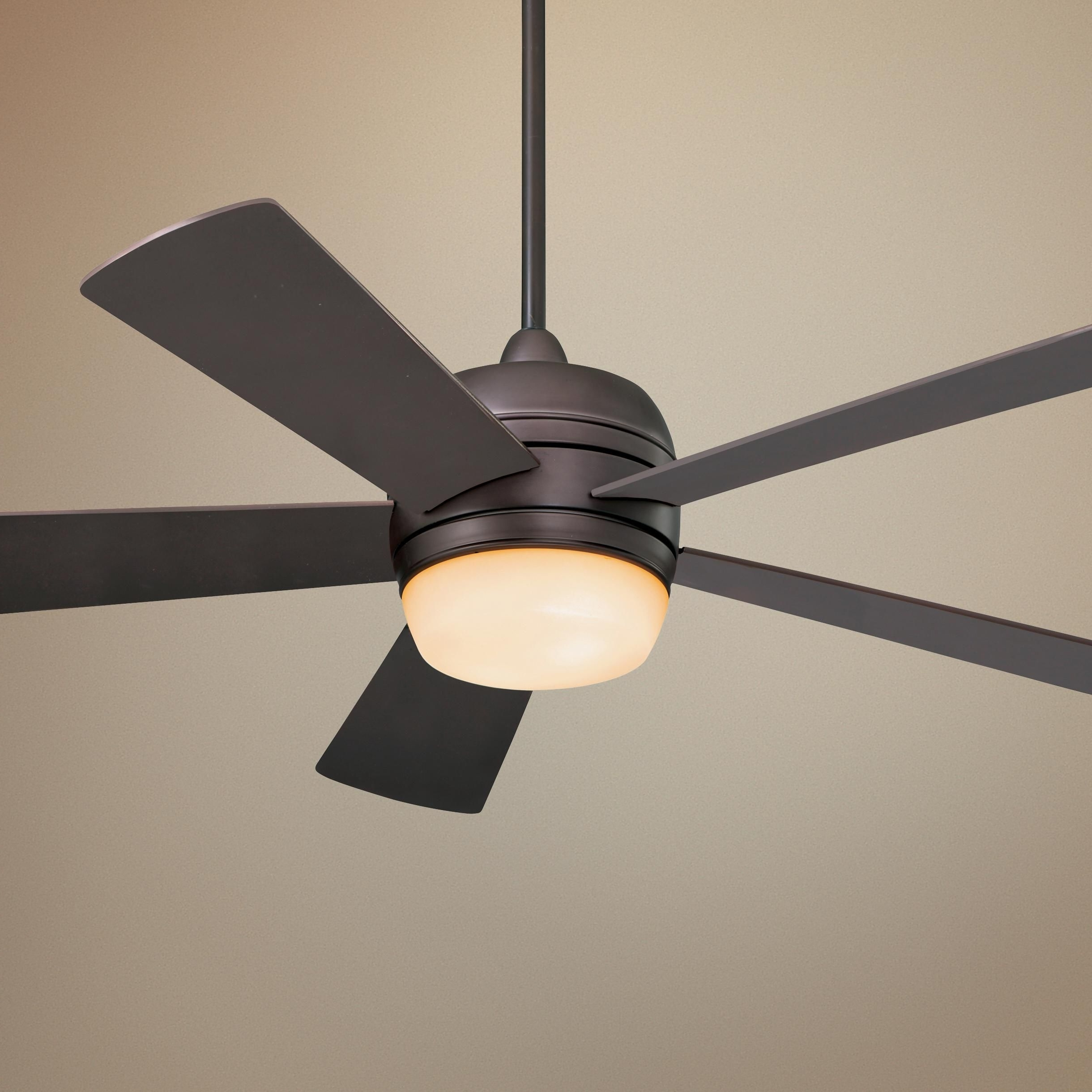 "Most Up To Date Emerson Outdoor Ceiling Fans With Lights In 52"" Emerson Atomical Oil Rubbed Bronze Ceiling Fan – #glo #lampsplus (View 12 of 20)"