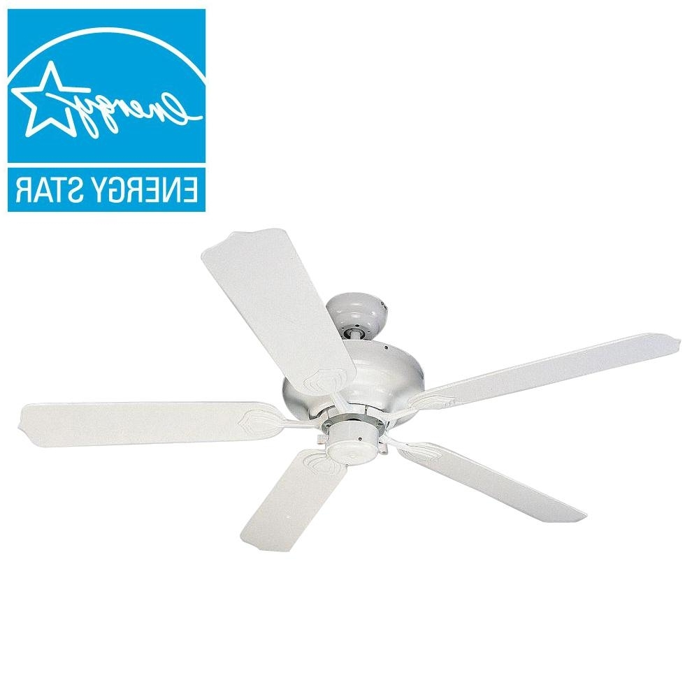 Most Up To Date Energy Star Outdoor Ceiling Fans With Light Inside Sea Gull Lighting Long Beach 52 In (View 15 of 20)