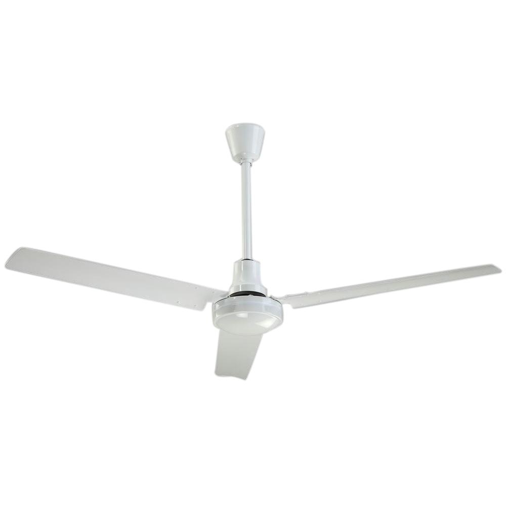 Most Up To Date Outdoor Ceiling Fans With High Cfm Pertaining To Industrial 56 In (View 10 of 20)