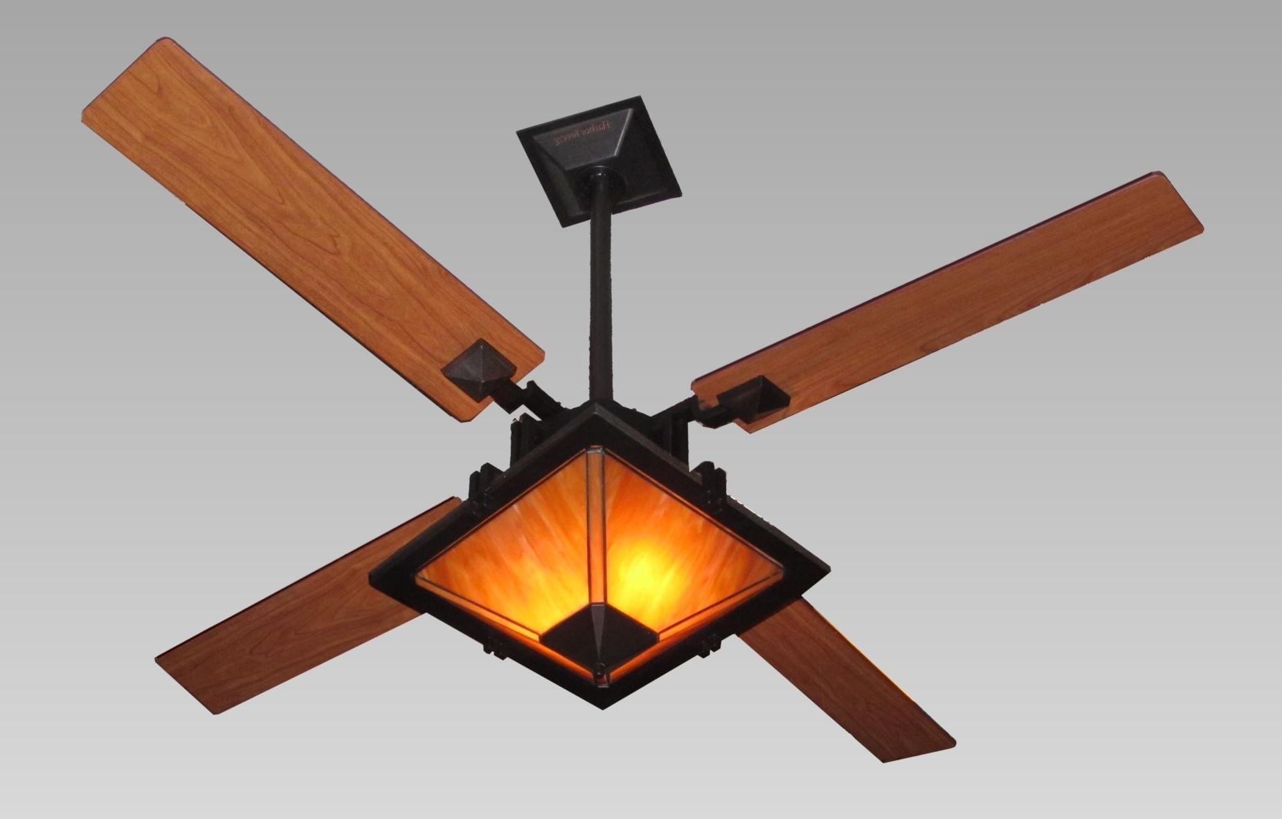 Newest Enclosed Outdoor Ceiling Fans With Regard To Installing Enclosed Ceiling Fan — The Lucky Design (View 19 of 20)