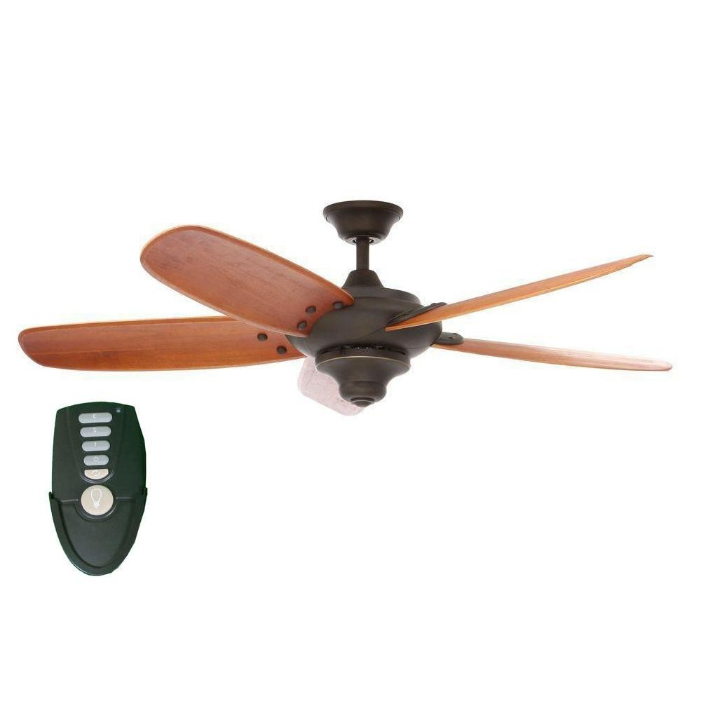 Newest Home Decorators Collection Altura 56 In. Indoor Oil Rubbed Bronze With Victorian Style Outdoor Ceiling Fans (Gallery 13 of 20)