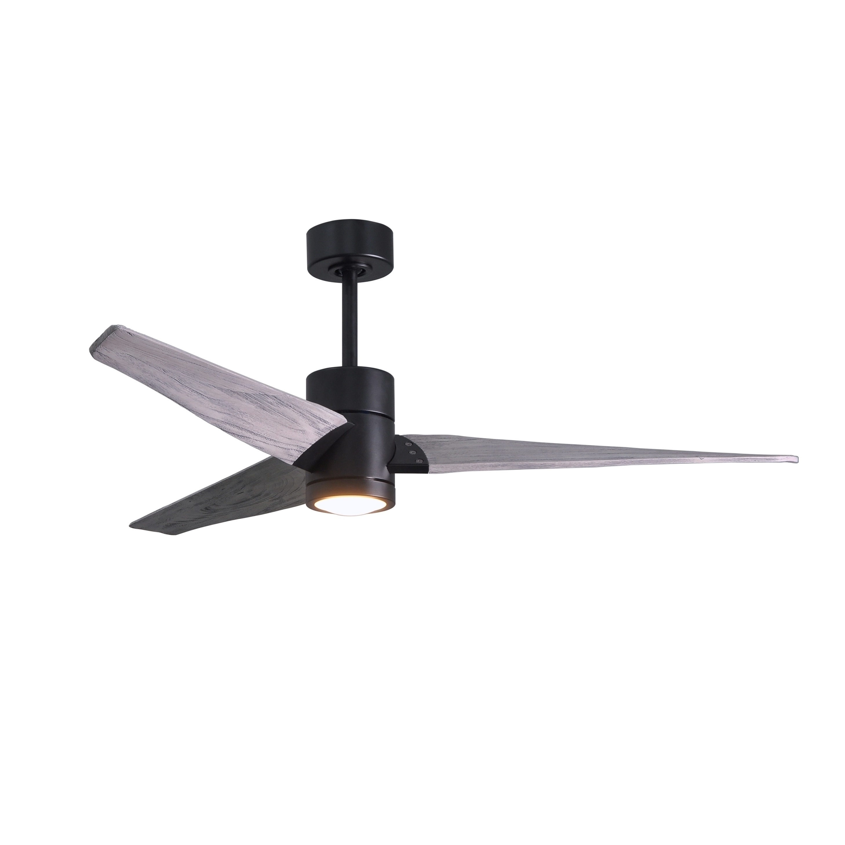 Newest Shop Matthews Fan Company Super Janet 3 Blade 60 Inch Matte Black Intended For Outdoor Ceiling Fans For Barns (View 13 of 20)