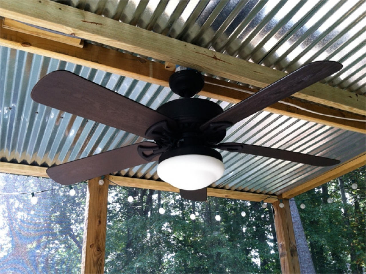 Nice Outdoor Patio Ceiling Fans Patio Ceiling Fans With Lights In Trendy Outdoor Porch Ceiling Fans With Lights (View 12 of 20)