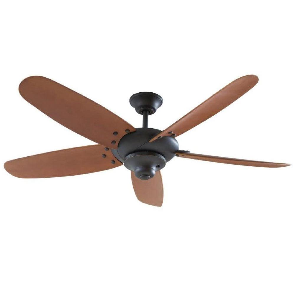 Oil Rubbed Bronze Outdoor Ceiling Fans Intended For Fashionable Home Decorators Collection Altura 60 In (View 12 of 20)