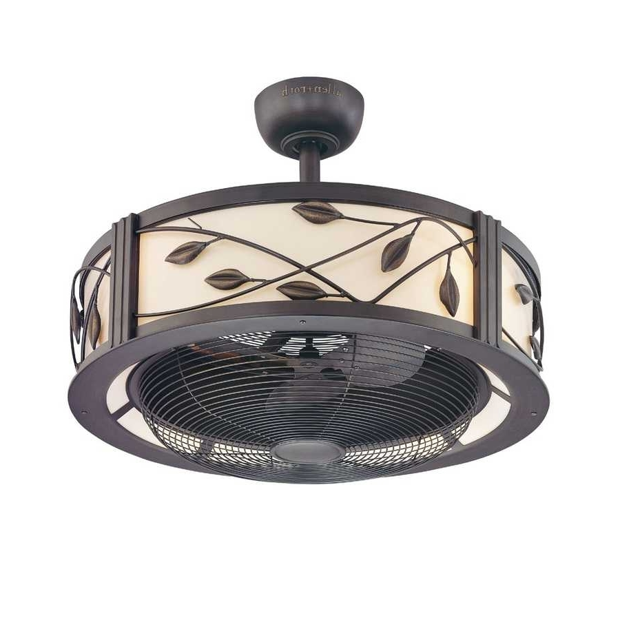 Outdoor Caged Ceiling Fans Cage Fan With Light 2018 Including Inside Favorite Outdoor Ceiling Fans With Cage (View 8 of 20)