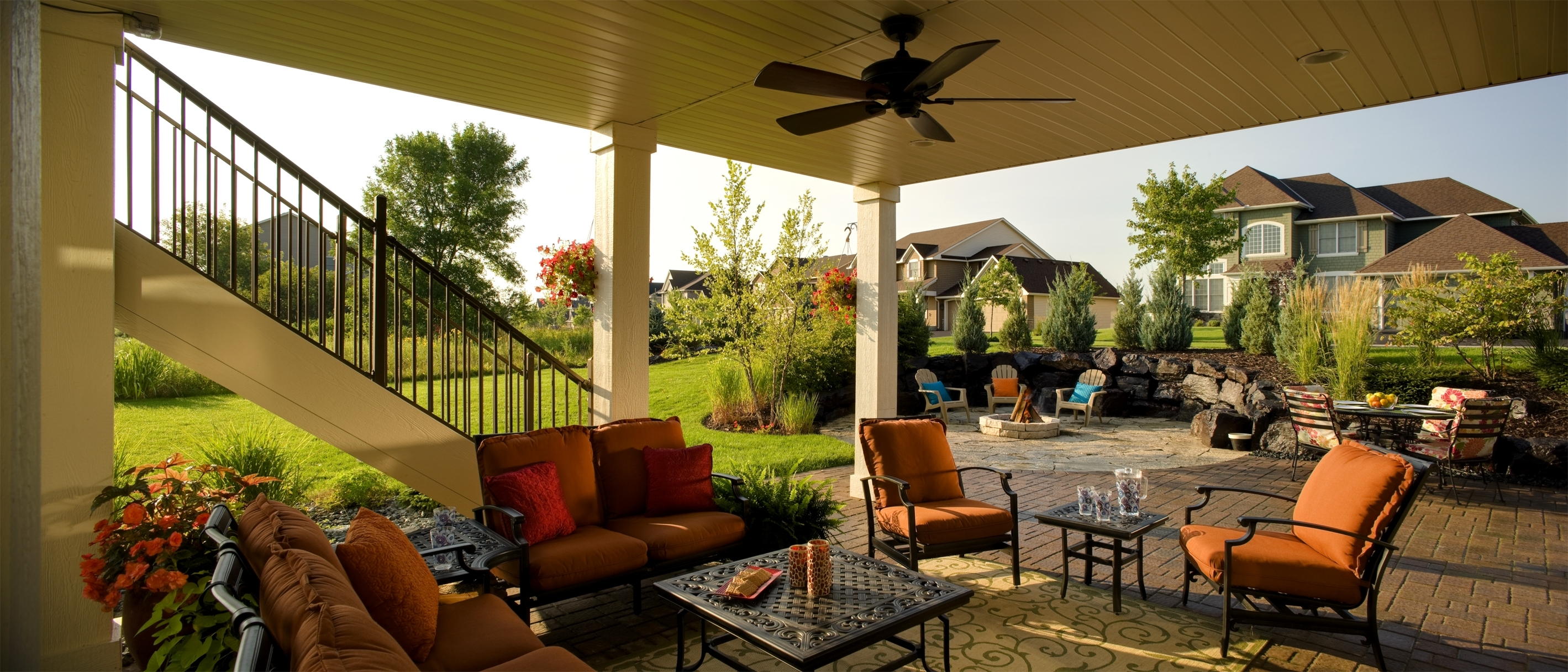 Outdoor Ceiling Fan Under Deck With Favorite Outdoor Fans For Patios Unique Minnesota Landscape Design (Gallery 11 of 20)