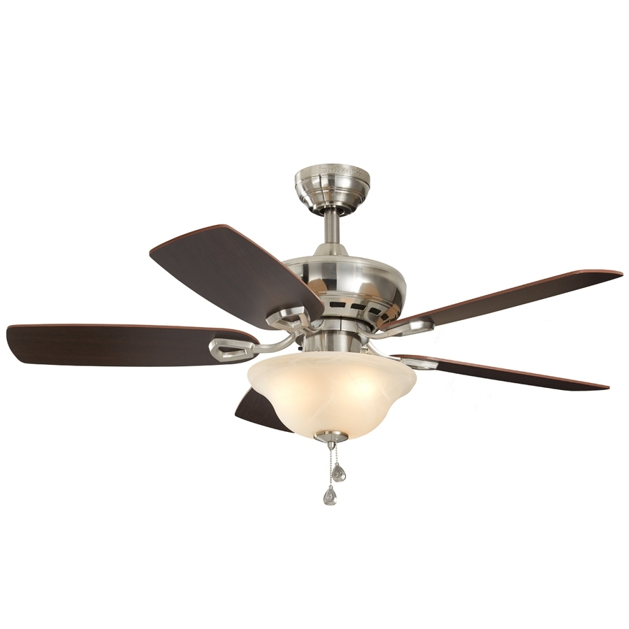 Outdoor Ceiling Fan With Light Under $100 Pertaining To Favorite Shop Ceiling Fans Below 100 At Lowes (Gallery 10 of 20)