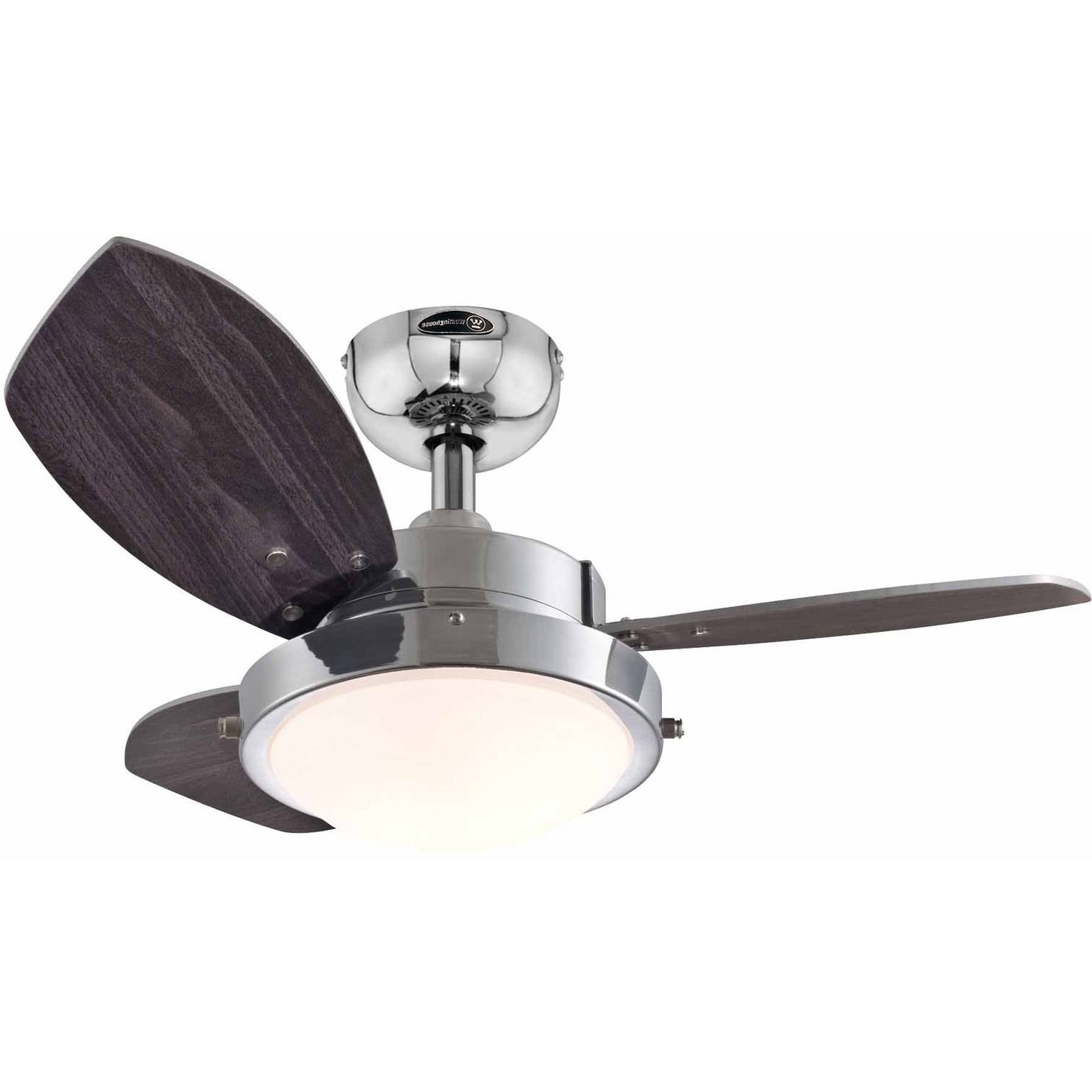 "Outdoor Ceiling Fans At Walmart With Regard To Newest Westinghouse 7224300 24"" Quince Reversible Indoor Ceiling Fan (View 14 of 20)"