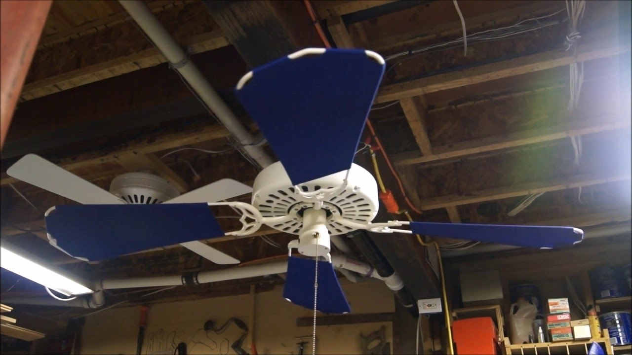 Outdoor Ceiling Fans By Hunter Inside Preferred Hunter Original Outdoor Ceiling Fan – Youtube (View 13 of 20)