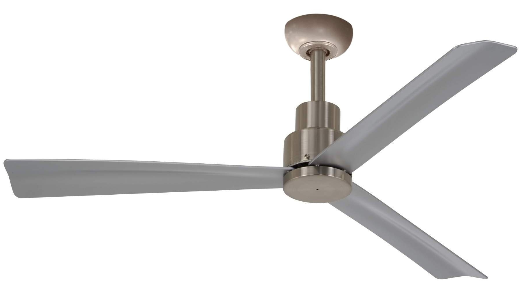 "Outdoor Ceiling Fans For Canopy With Well Known 52"" Simple (Gallery 17 of 20)"
