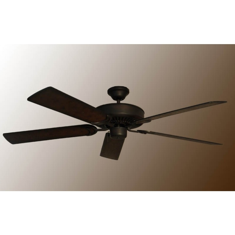 Outdoor Ceiling Fans For Coastal Areas Inside Most Up To Date Traditional Ceiling Fan, Gulf Coast Ceiling Fans (View 12 of 20)