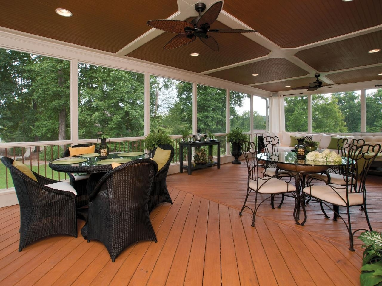 Outdoor Ceiling Fans For Decks For Newest Lighting Your Lovely Outdoor Porch Ceiling Fans With (View 12 of 20)