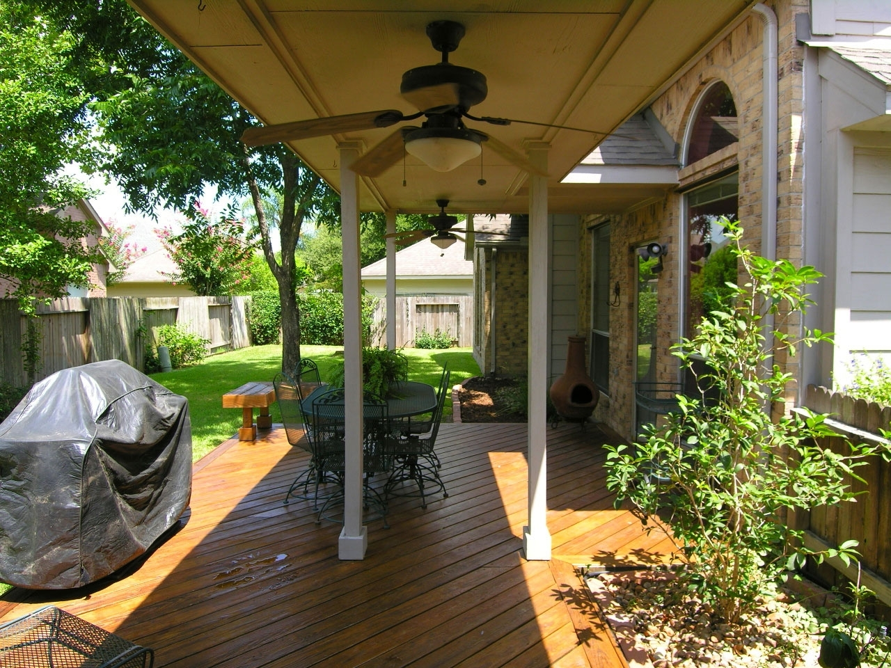 Outdoor Ceiling Fans For Decks Throughout Newest Outdoor Porch Ceiling Fans With Lights Inch Fan Door Ideas Hunter (View 13 of 20)