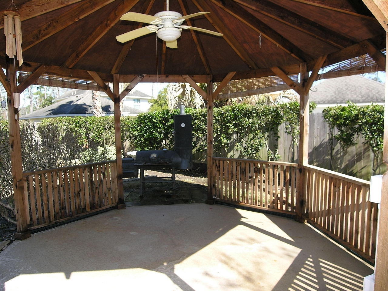 Outdoor Ceiling Fans For Gazebo With Most Up To Date 13510 Missarah – $274,500 Updated Home, Hardwood Flooring (Gallery 19 of 20)