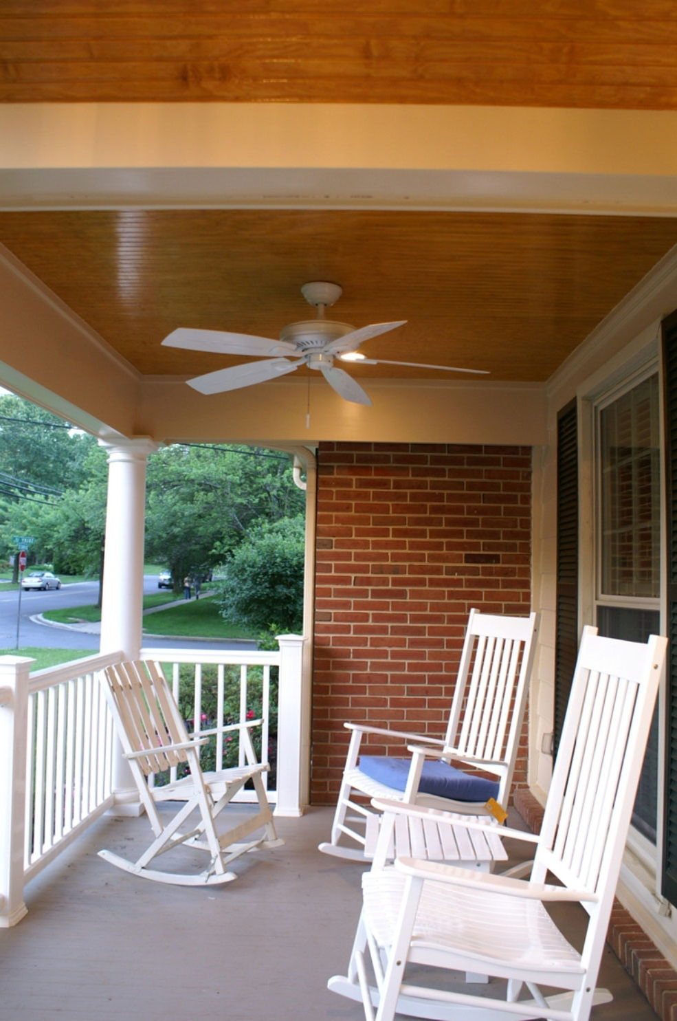 Outdoor Ceiling Fans For Porch Intended For Most Current Ceiling: Glamorous Outdoor Ceiling Fans Without Lights Lowes Ceiling (Gallery 13 of 20)