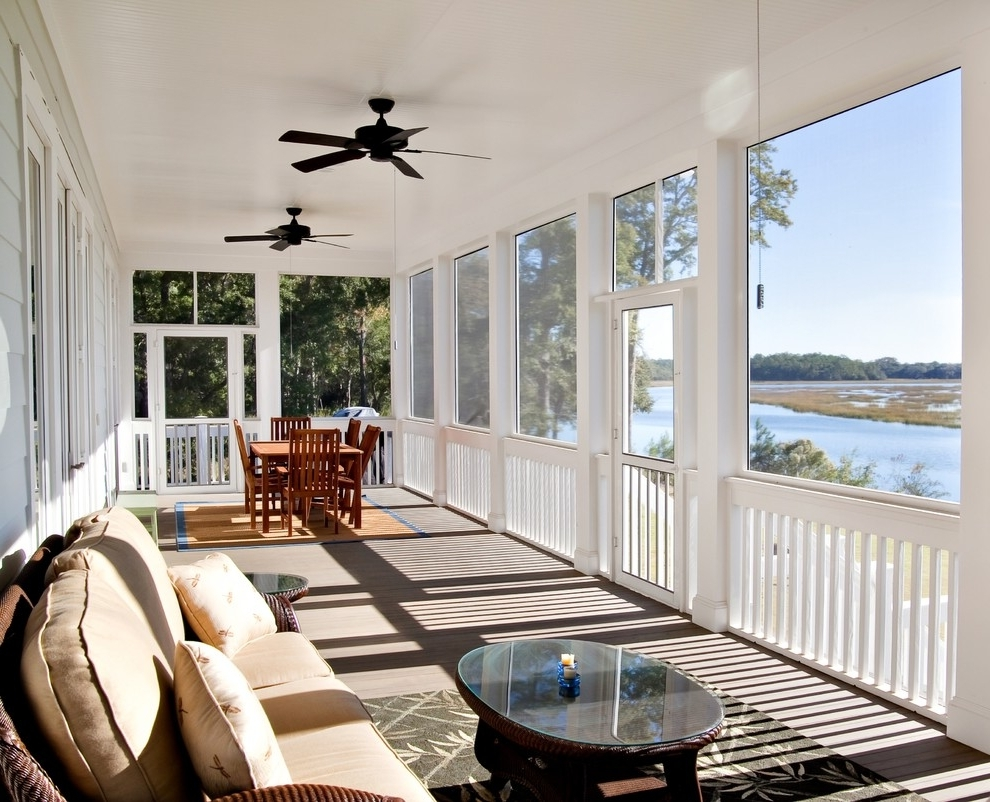 Outdoor Ceiling Fans For Screened Porches With Regard To Most Recent Ceiling Fans For Porches – Photos House Interior And Fan (View 15 of 20)