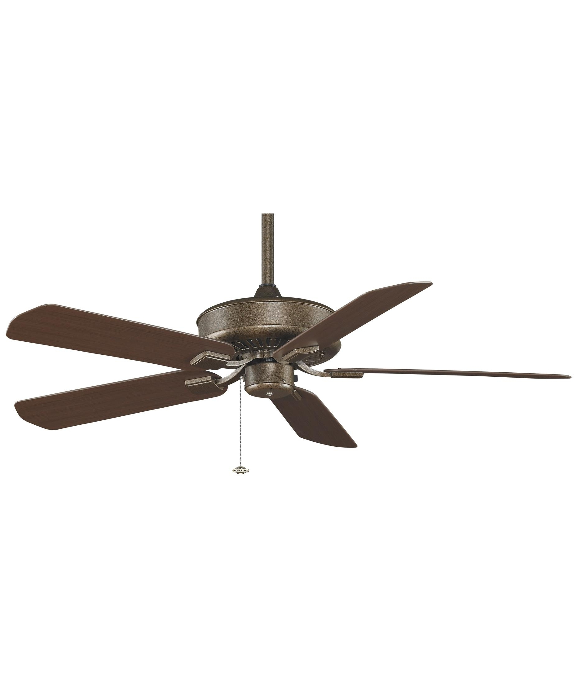 Outdoor Ceiling Fans For Wet Locations In Favorite Fanimation Tf910 Edgewood 50 Inch 5 Blade Ceiling Fan (View 10 of 20)