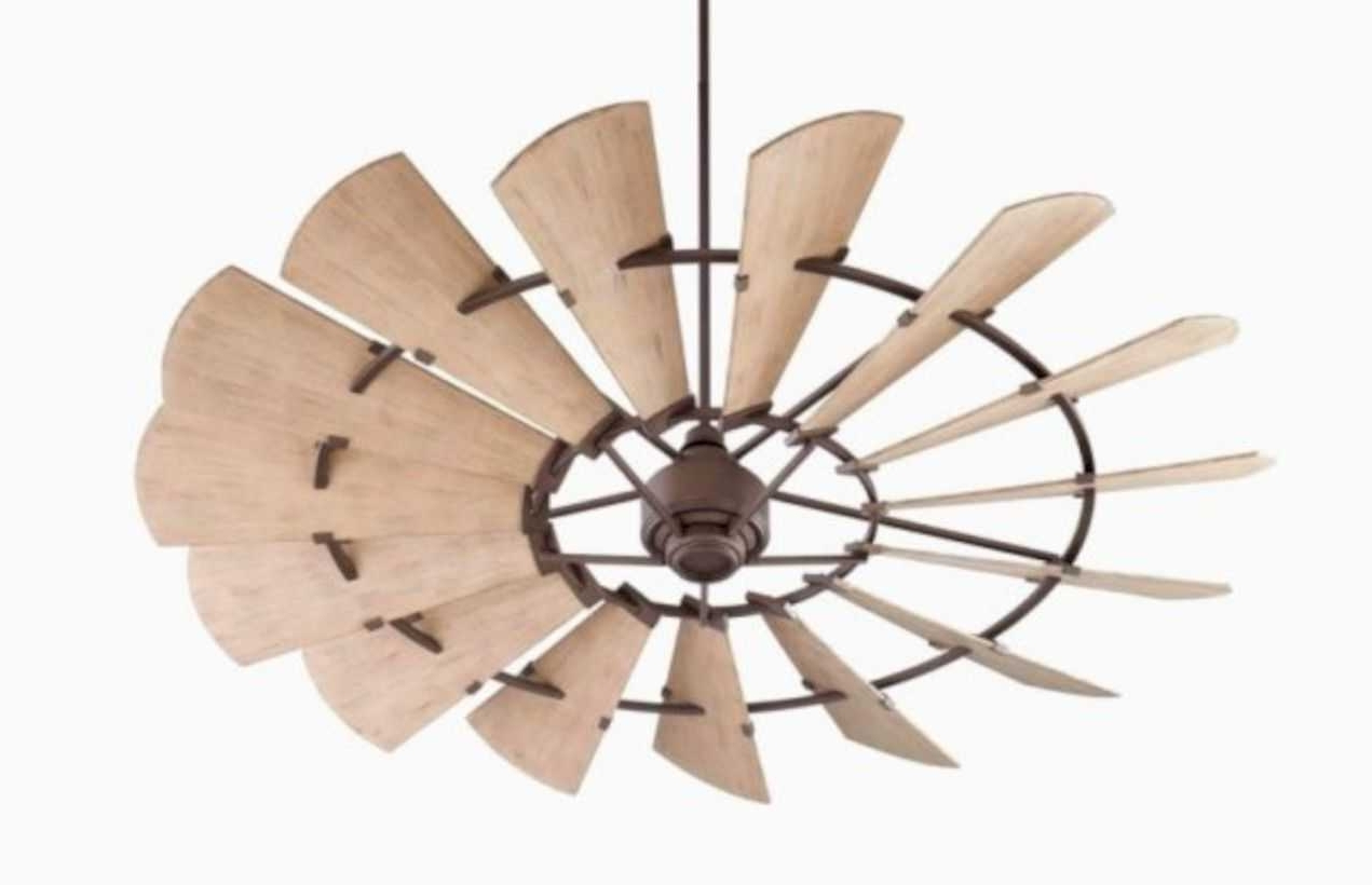 Outdoor Ceiling Fans For Wet Locations With Regard To Well Known Inspiring Modern Rustic Collection And Enchanting Looking Outdoor (View 15 of 20)