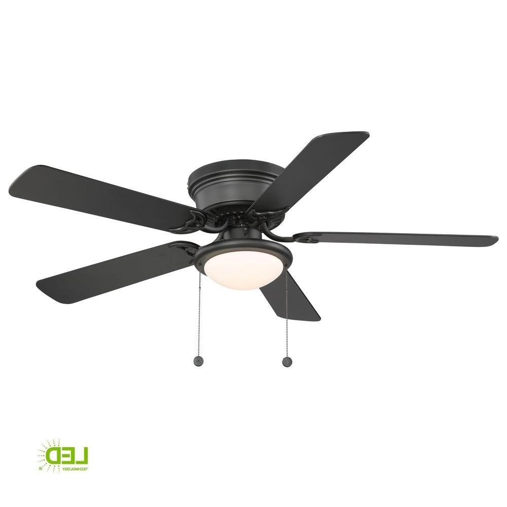 Outdoor Ceiling Fans Under $75 For Famous Hugger 52 In (View 12 of 20)