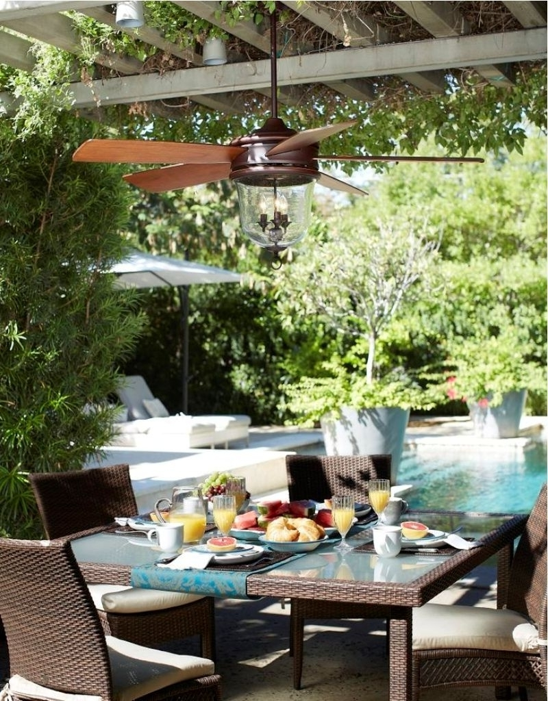 Outdoor Ceiling Fans Under Pergola In Most Recent Stylish Pergola With Exclusive Chairs And Table Using Best Small (View 10 of 20)