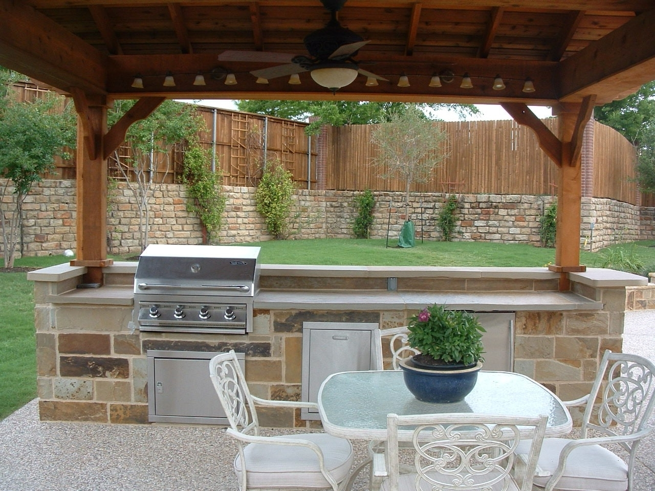 Outdoor Ceiling Fans Under Pergola With Regard To Current Modern Outdoor Ceiling Fan With Light — Sherizampelli Landscape (View 14 of 20)