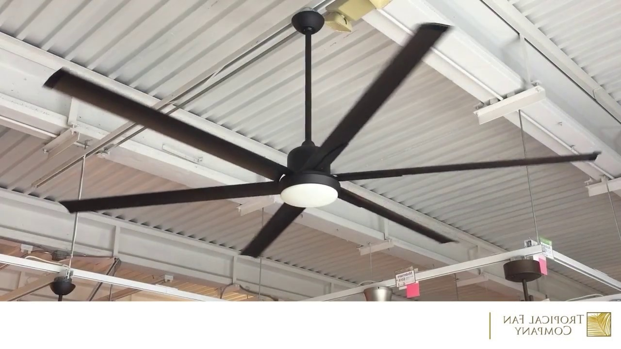 Outdoor Ceiling Fans With Aluminum Blades Throughout Most Up To Date 84 Inch Titan Ceiling Fan With Extruded Aluminum Bladestroposair (View 15 of 20)