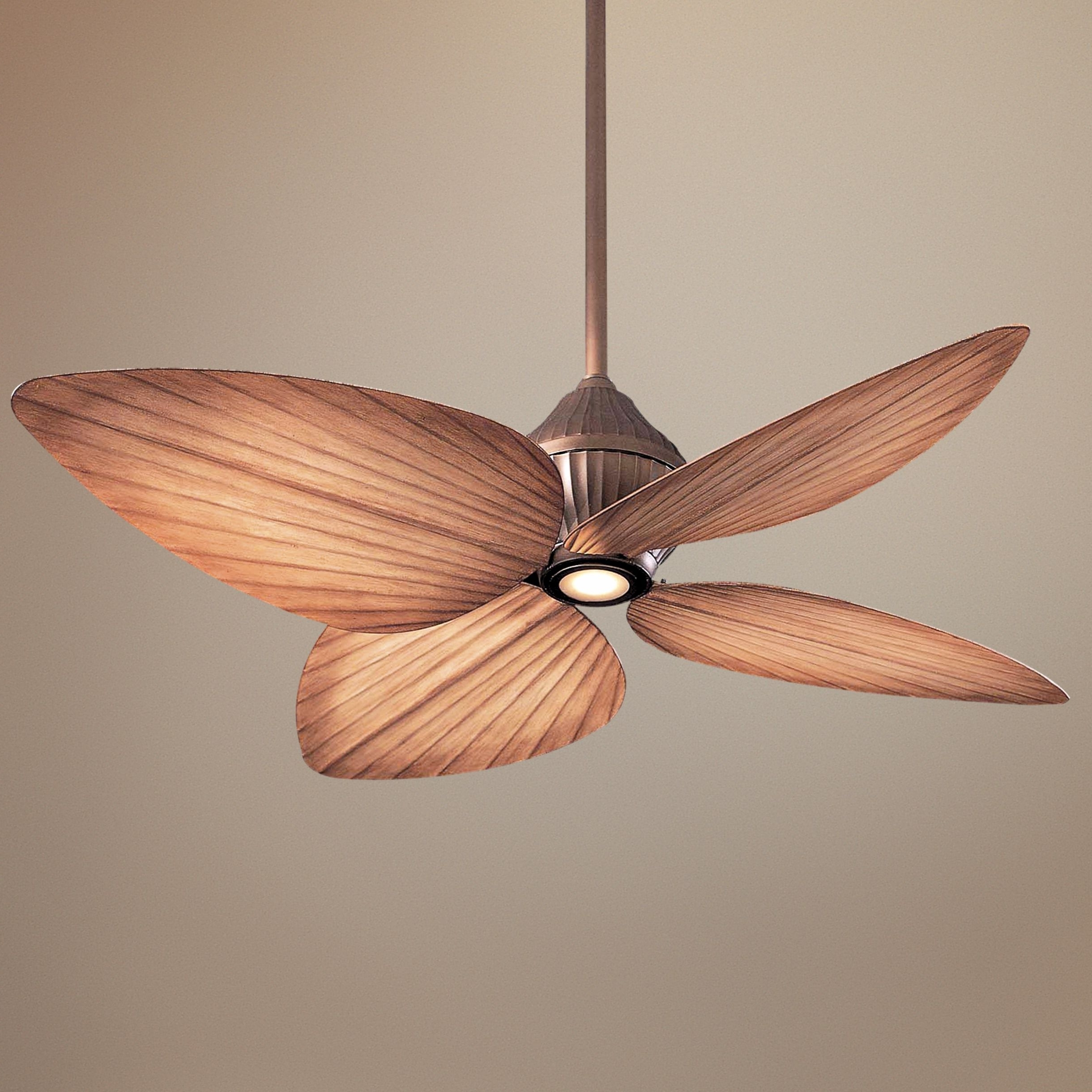 Outdoor Ceiling Fans With Bamboo Blades Regarding Most Recently Released Ceiling: Stunning Palm Leaf Ceiling Fan Wicker Ceiling Fans, Bamboo (Gallery 20 of 20)
