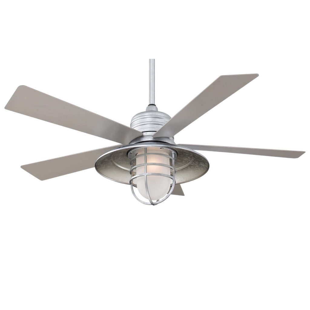Outdoor Ceiling Fans With Cage With Regard To Well Known Ceiling (View 13 of 20)