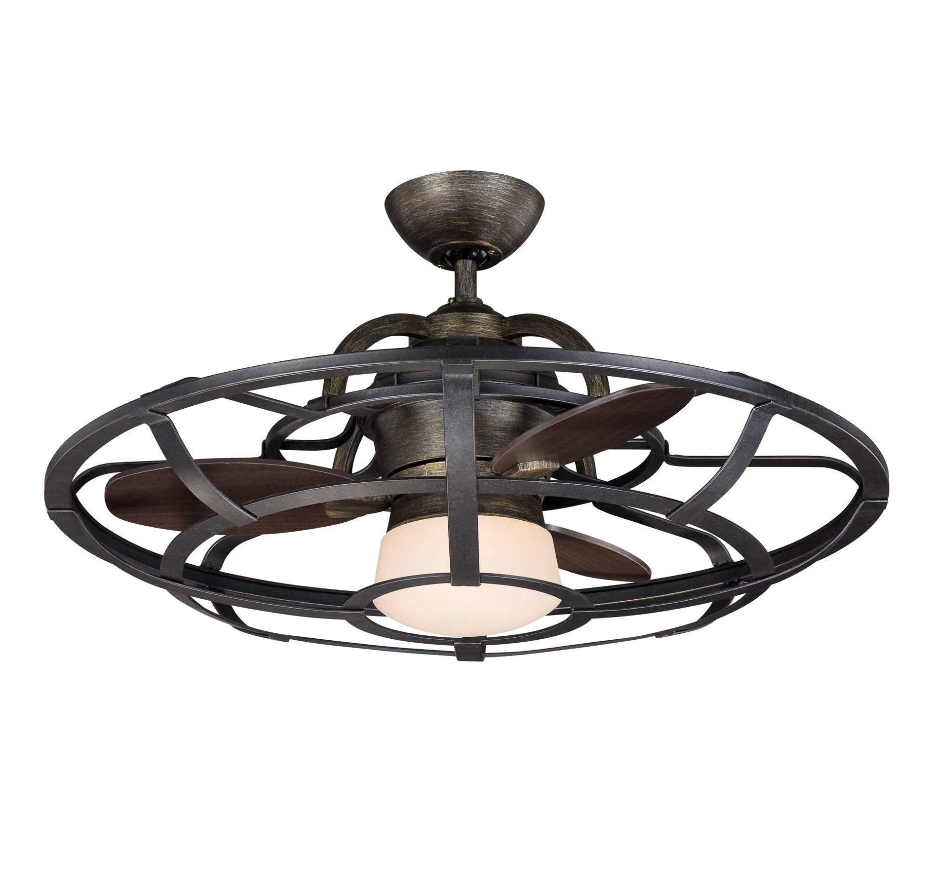 Outdoor Ceiling Fans With Cage With Well Liked Ceiling: Astounding Small Outdoor Ceiling Fan Hunter Outdoor Ceiling (View 2 of 20)