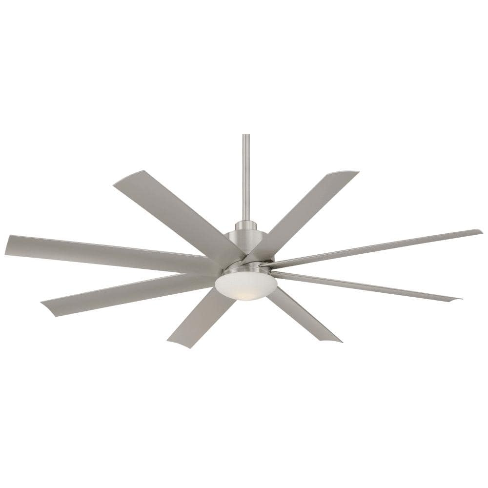 """Outdoor Ceiling Fans With Dimmable Light Intended For Favorite Shop Minkaaire Slipstream Slipstream 65"""" 8 Blade Indoor / Outdoor (View 11 of 20)"""