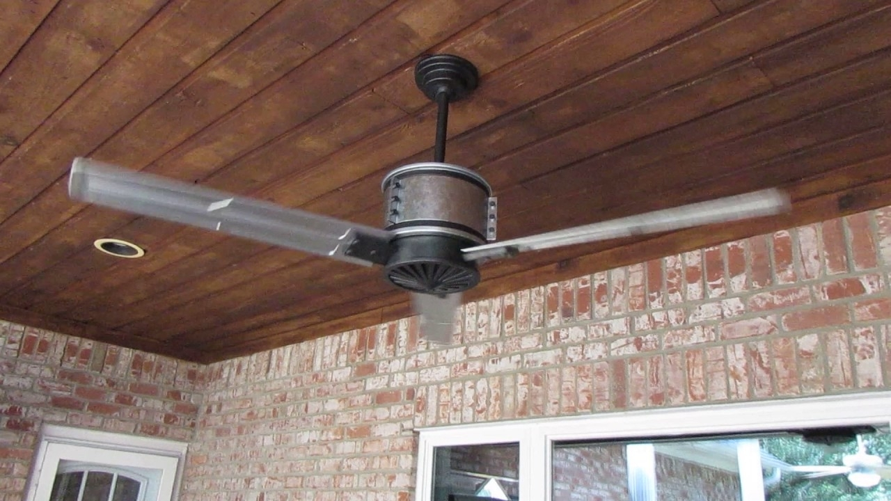 Outdoor Ceiling Fans With Galvanized Blades In Famous Duluth 60 In (View 9 of 20)