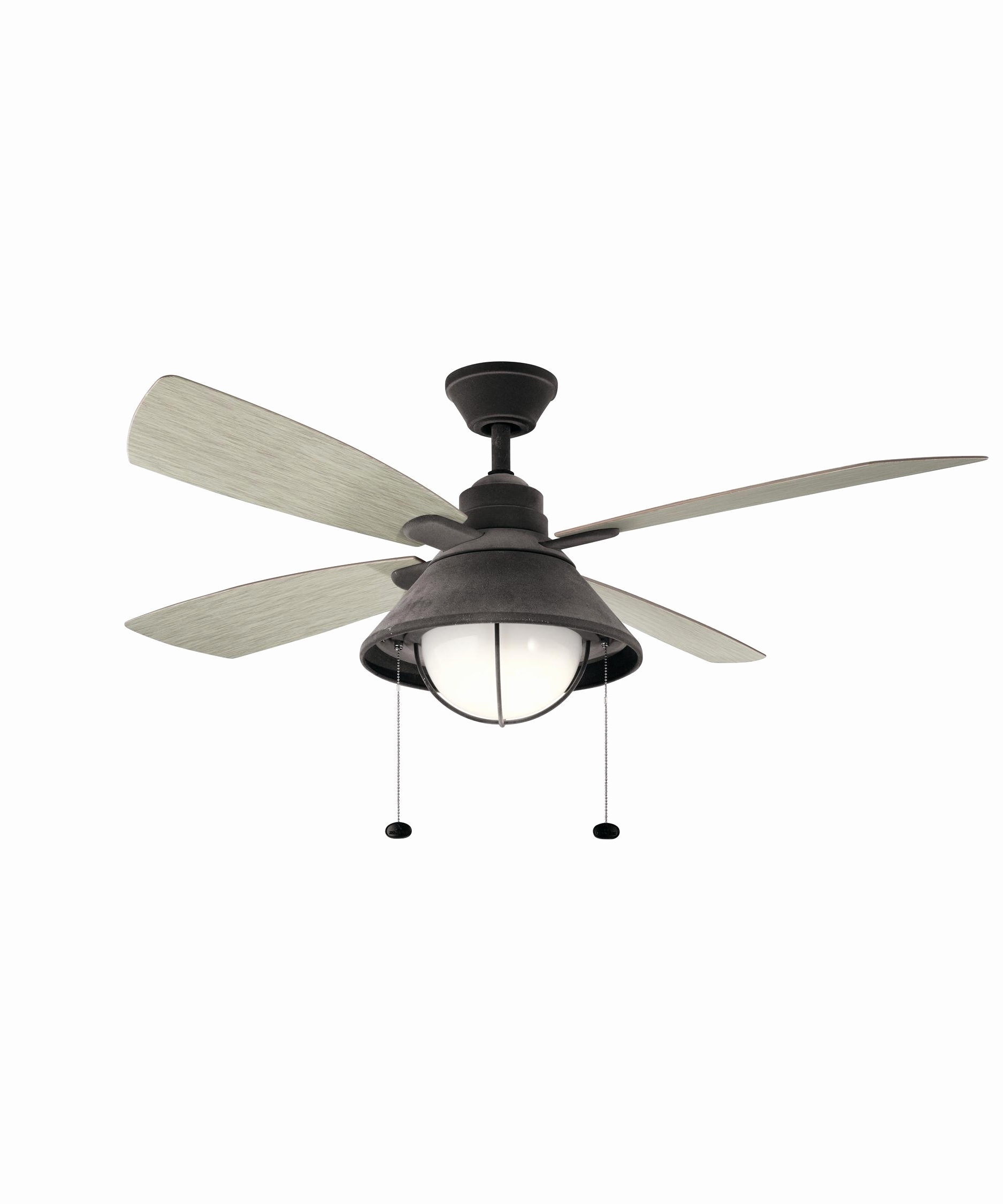 Outdoor Ceiling Fans With High Cfm For Trendy High Cfm Outdoor Ceiling Fan Inspirational Kichler Seaside 52 Inch  (View 12 of 20)