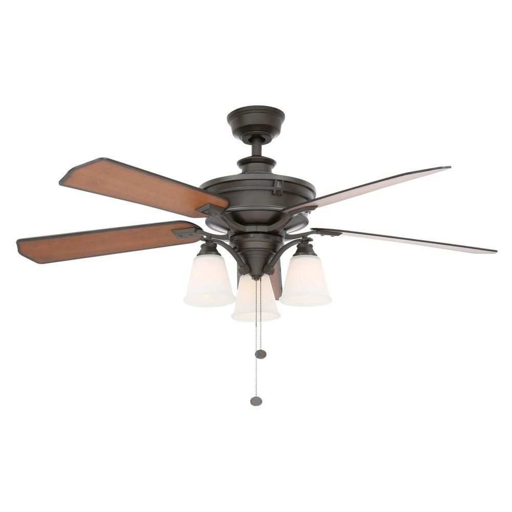 Outdoor Ceiling Fans With High Cfm With Regard To Current High Cfm Ceiling Fan Luxury Hampton Bay Metro 54 In Indoor Outdoor (View 20 of 20)