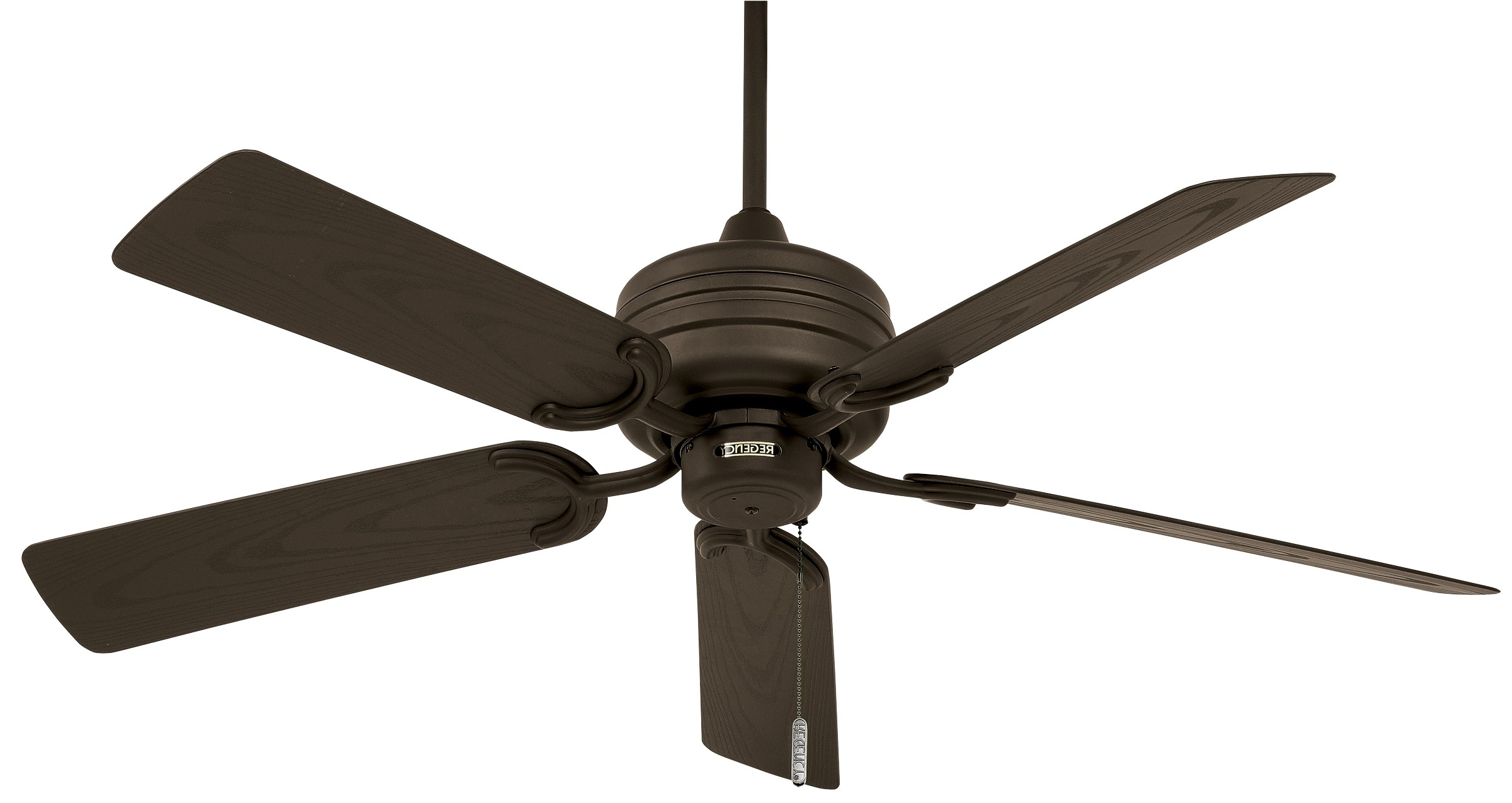 Outdoor Ceiling Fans With Hook Throughout Fashionable Tropic Air™ Outdoor (wet Location / Motor Only) (Gallery 15 of 20)
