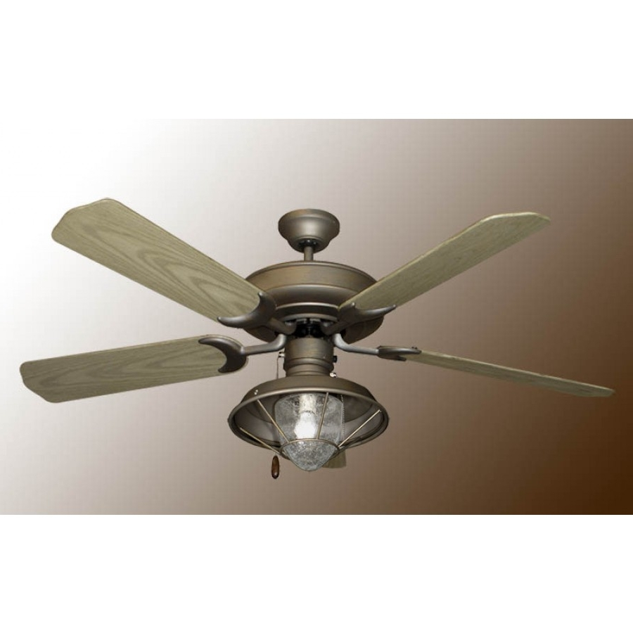 Outdoor Ceiling Fans With Lantern Pertaining To Fashionable Raindance Outdoor Ceiling Fan, Gulf Coast Raindance, Ceiling Fan (Gallery 3 of 20)