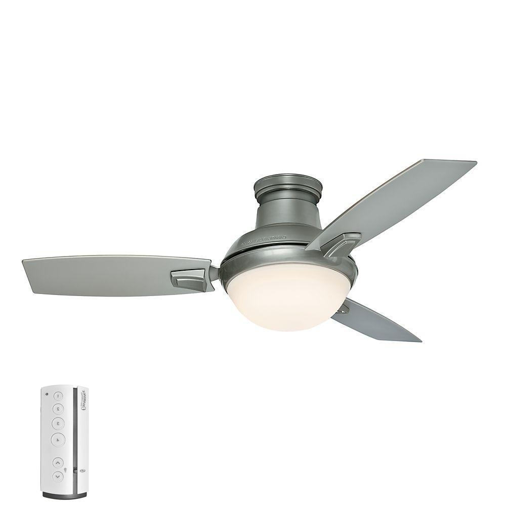 Outdoor Ceiling Fans With Light And Remote With Regard To Recent Casablanca Verse 44 In (View 12 of 20)
