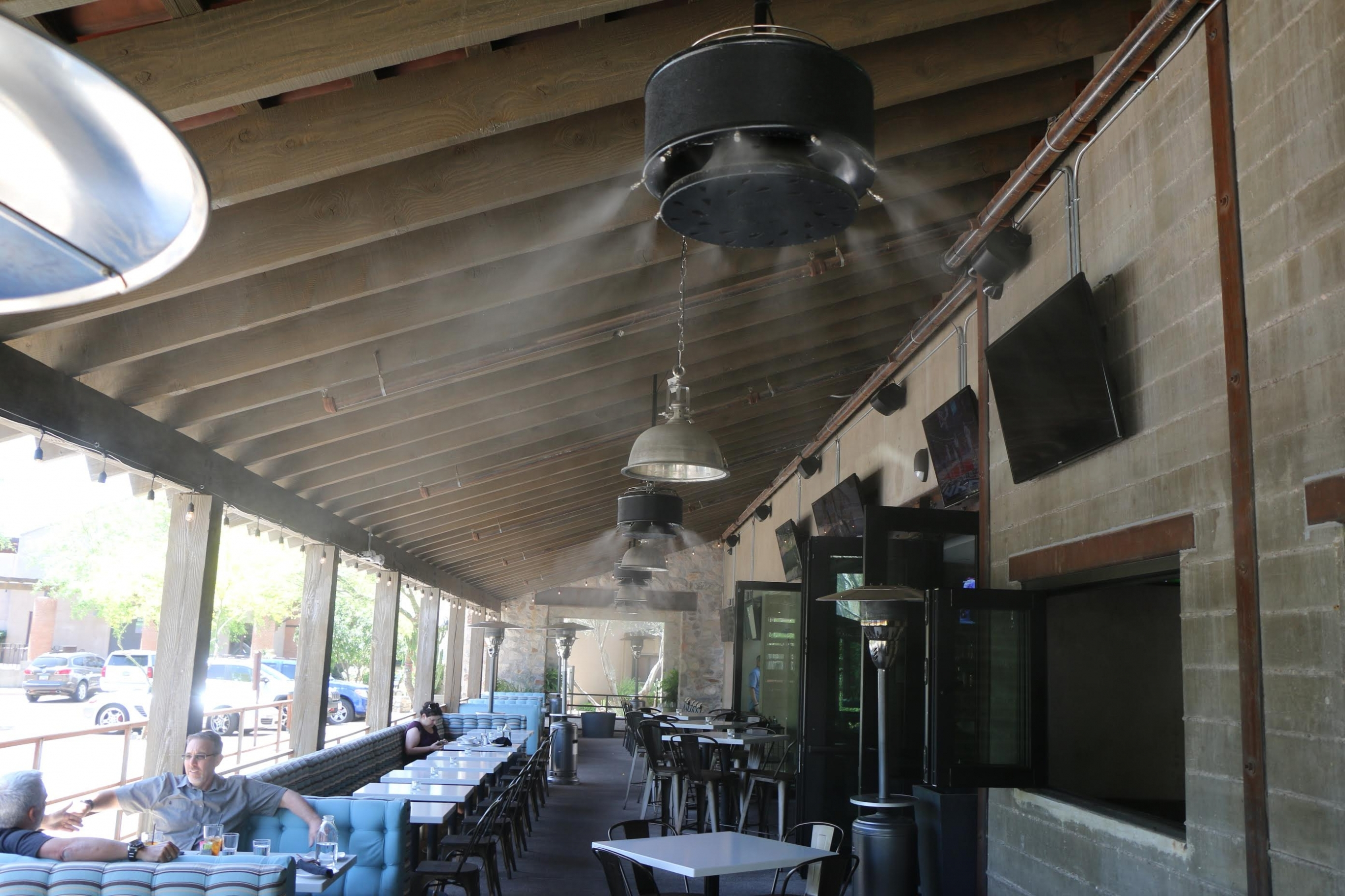 Featured Photo of Outdoor Ceiling Fans With Misters