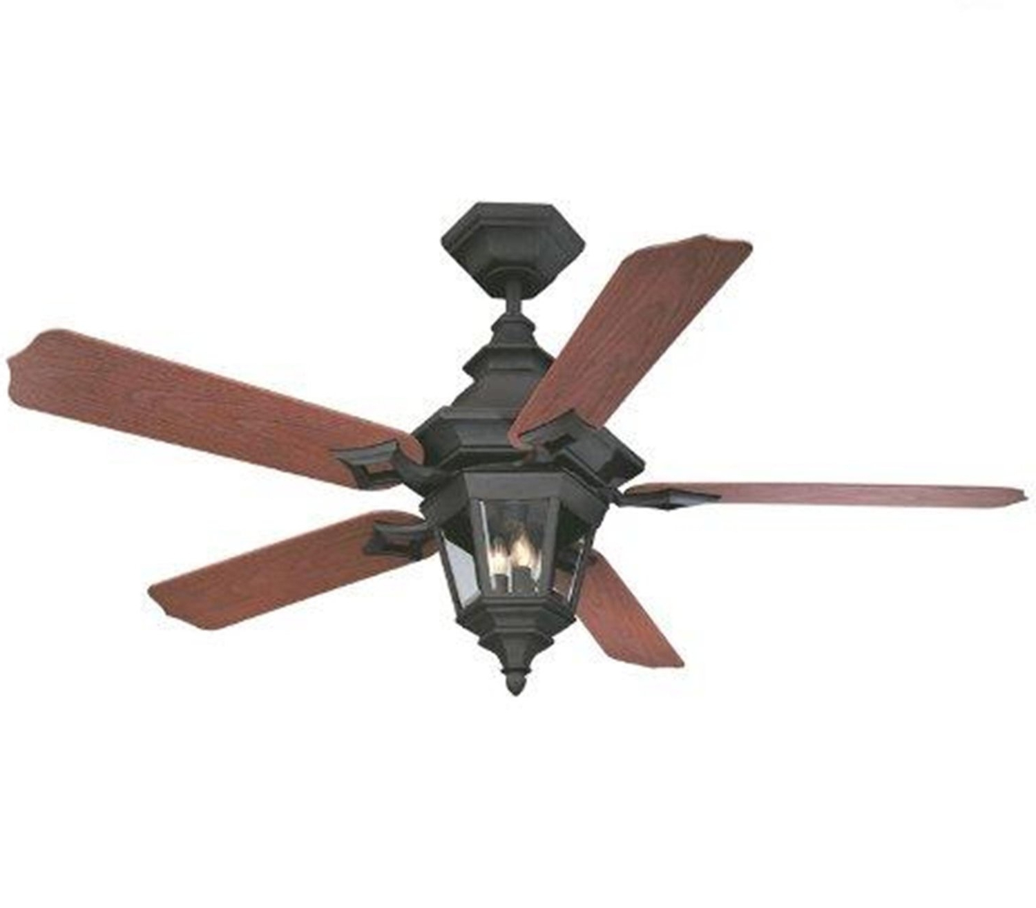 Outdoor Ceiling Fans With Motion Light Throughout Well Liked Ceiling Lights : Warm Industrial Outdoor Ceiling Fans With Lights (View 12 of 20)