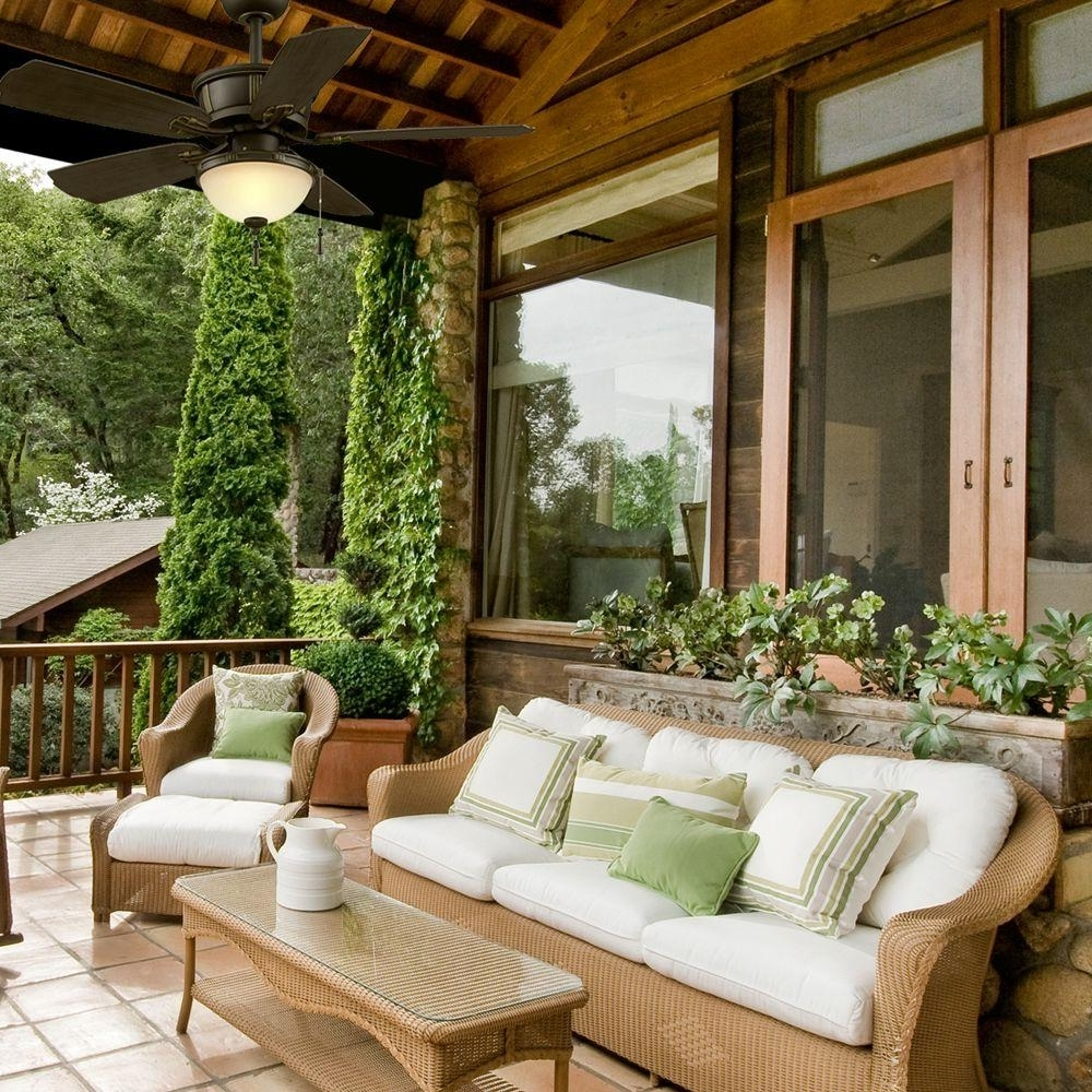 Outdoor Porch Ceiling Fans With Lights For Fashionable Stylish Ceiling Fans For Outdoor And Indoor (View 6 of 20)