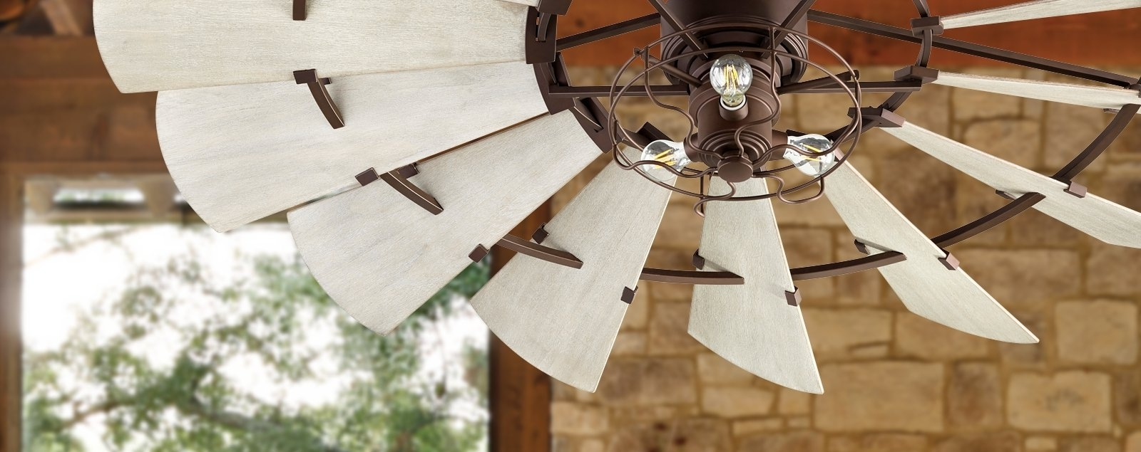 Outdoor Windmill Ceiling Fans With Light With Regard To Most Recent Windmill Ceiling Fans (View 13 of 20)