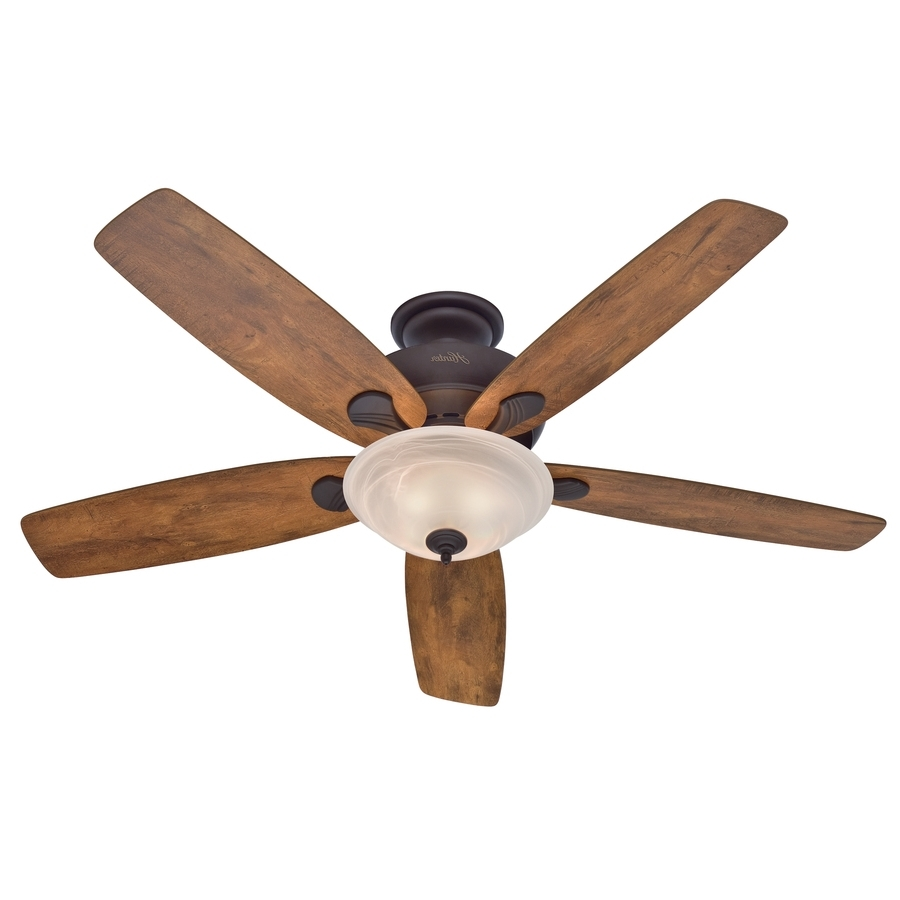Oversized Outdoor Ceiling Fans Intended For Best And Newest Shop Ceiling Fans At Lowes (View 11 of 20)