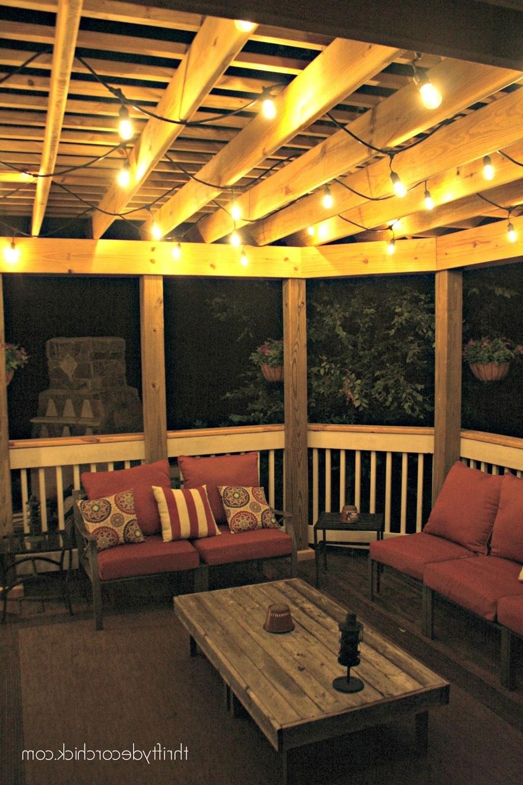 Pergola Design Ideas Lights For Pergola Best Outdoor Lights Pergola For Preferred Outdoor Ceiling Fans Under Pergola (View 16 of 20)