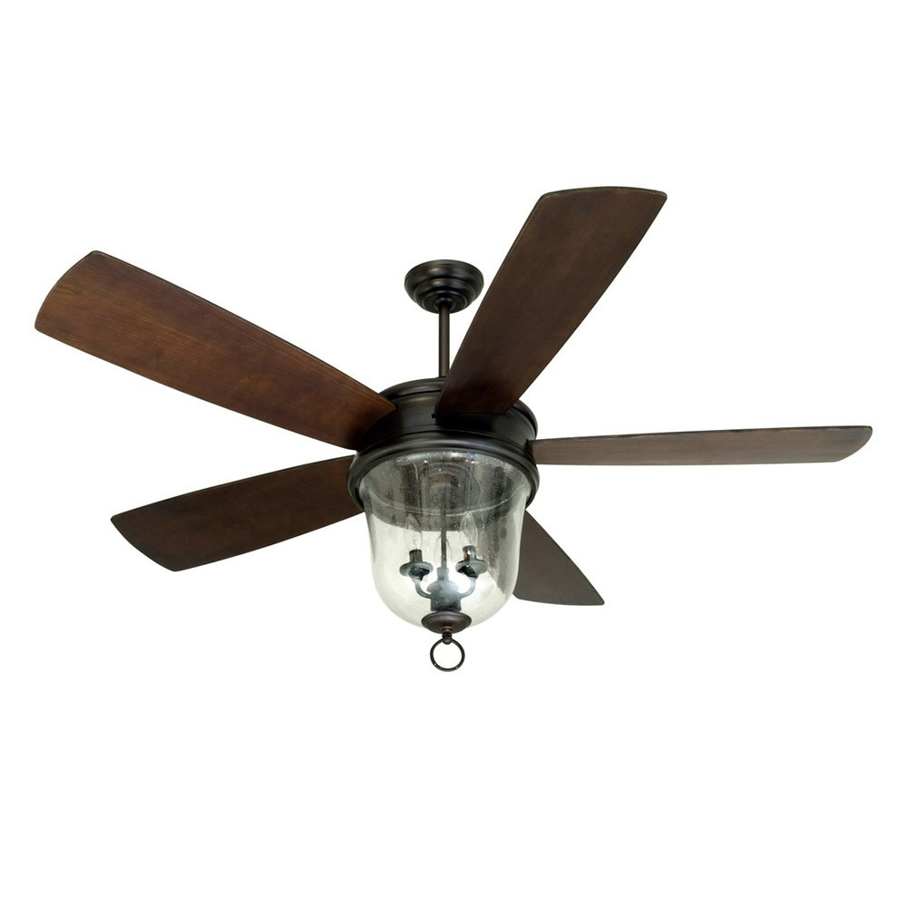 Popular Fredericksburg Indoor/outdoor Craftmade Ceiling Fan Fb60Obg5 – Oiled For Craftmade Outdoor Ceiling Fans Craftmade (View 17 of 20)